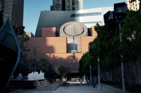 View from Yerba Buena Gardens. Image courtesy Snøhetta.