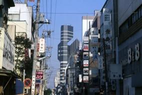 Minoru Takeyama: Number 1Building, Tokyo. Photo courtesy of the architect.