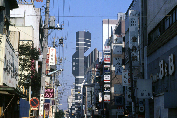 Minoru Takeyama: Number 1Building, Tokyo. Photo courtesy of the architect.