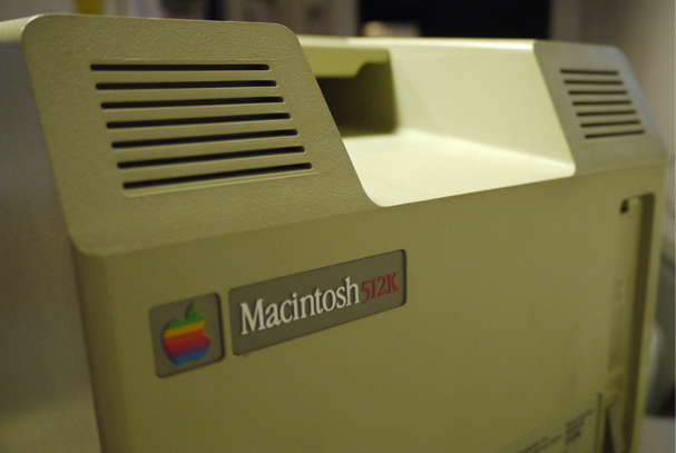 Macintosh 512K. Photo: Steve Garfield