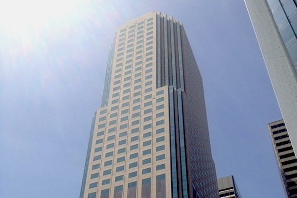 Some argue that Salesforce's decision to stay downtown in buildings such as 50 Fremont is better for San Francisco.