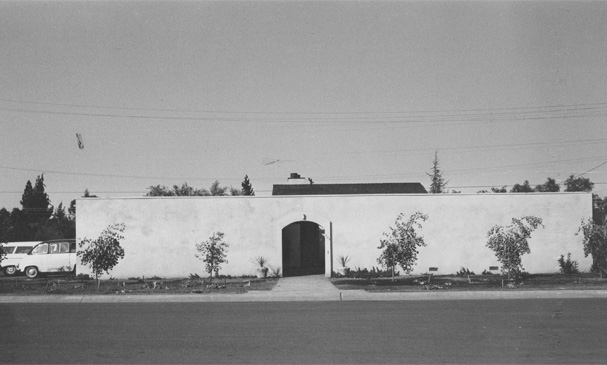 House 1 in 1961.