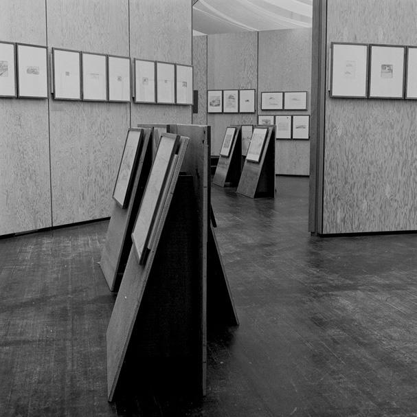 """Eric Mendelsohn Exhibit, Carlo Scarpa Designer,"" photo courtesy of the University of California Berkeley Art Museum and Pacific Film Archive."