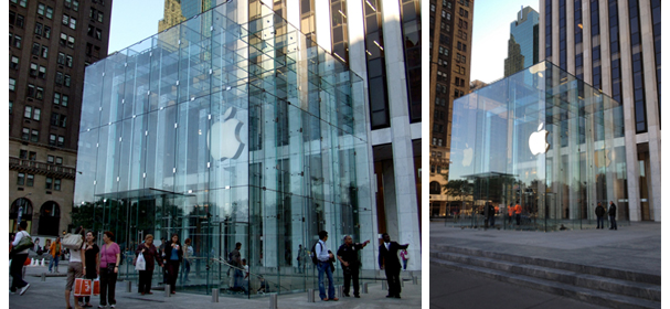 Apple's Fifth Avenue Store in New York